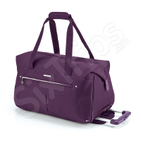 Лилава пътна чанта с колела 54см Gabol Daisy