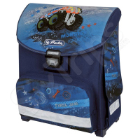 Детска синя раница Herlitz Smart Truck