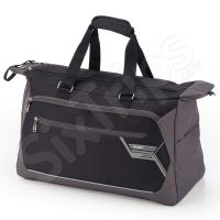 Стилна сиво-черна пътна чанта Gabol Lumen