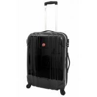 Черен куфар поликарбонат Wenger EvoLite 55см