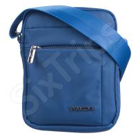 Синя чантичка за рамо 20х16см