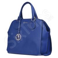 Синя дамска чанта с неповторим облик Puccini