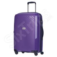 Твърд лилав куфар, полипропилен Puccini Havana