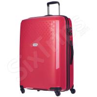 Голям функционален червен куфар Puccini Havana 100л
