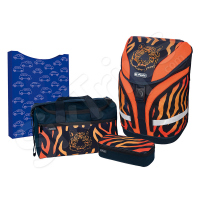 Училищен комплект в оранжево и черно Tiger