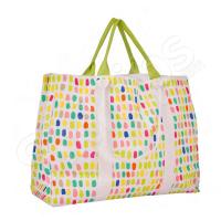Шарена плажна чанта 50см.