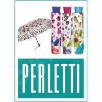 Свеж шарен дамски чадър с цветя