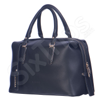 Черна елегантна дамска чанта Puccini