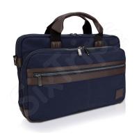 Синя чанта за лаптоп Dell Topload Canvas 15.6