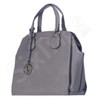 Дамска чанта в елегантен сив цвят Puccini