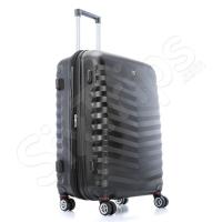 Стилен черен твърд куфар Wenger - 66л.