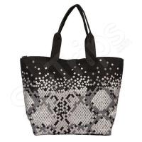 Черна чанта за плаж