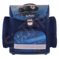 Училищна синя раница Herlitz Midi Truck