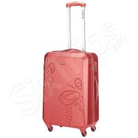 Дамски куфар в цвят корал Gabol Iris 67см