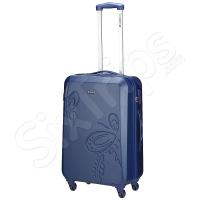 Твърд куфар 63л. в синьо Gabol Iris