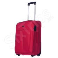 Червен куфар ръчен багаж Puccini Latina, 35л