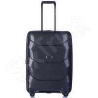 Малък куфар 55см за ръчен багаж Puccini Miami, черен