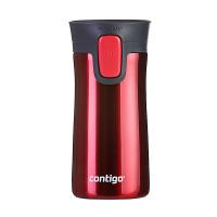 Стилна малка термочаша за кафе или чай Contigo Pinnacle Watermelon 300мл, диня