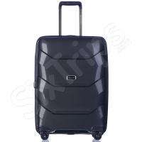 Куфар с уникален черен дизайн Puccini Miami, 65л