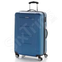 Голям твърд син куфар 76см Gabol Boston