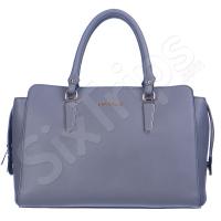 Стилна дамска чанта в сив цвят Puccini
