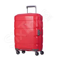 Малък куфар за ръчен багаж Puccini 55см, червен
