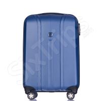 Син куфар поликарбонат 55см за ръчен багаж Puccini Toronto