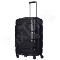 Среден размер куфар 65л Puccini, черен