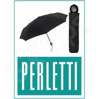 Чисто черен дамски чадър