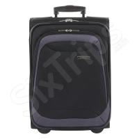 Куфар 51см Travelite Portofino, цвят черен