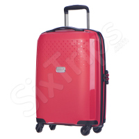 Удобен куфар за ръчен багаж Puccini Havana, червен