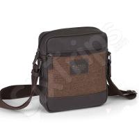 Стилна мъжка чанта в кафяво Gabol Bio