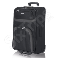 Голям тъмен куфар Travelite Orlando XL 114л.