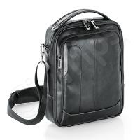 Черна чанта за рамо от еко кожа Shadow 10.2