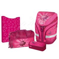Розов комплект Herlitz Butterfly