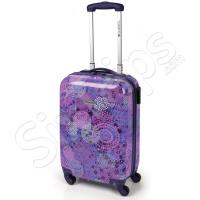 Лилав куфар 55см за ръчен багаж Gabol Spice