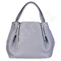 Дамска чанта в сив цвят Puccini