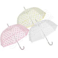 Дамски полупрозрачен чадър Perletti
