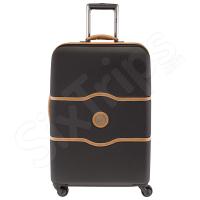 Черен куфар поликарбонат Delsey Chatelet