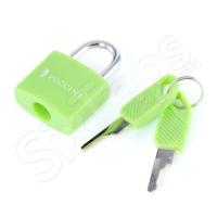 Малък зелен катинар Puccini с два ключа