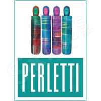 Шарен дамски чадър райе Perletti