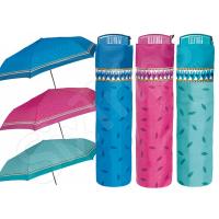 Сгъваем чадър за пътуване - 3 цвята