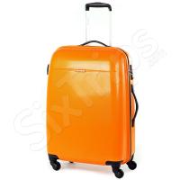 Твърд куфар 100% поликарбонат Voyager, оранжев