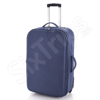 Куфар с изчистен дизайн в синьо WiFi 65см.