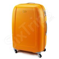 Голям оранжев твърд куфар Puccini Barcelona 109.5л