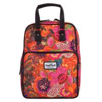 Свежа раница и чанта за пътуване или ежедневието CoolPack Cubic Flower Explosion