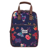 Тъмносиня раница и чанта CoolPack Cubic Summer Dream