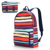 Цветна портативна сгъваема раница за път Reisenthel Mini maxi rucksack