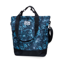 Голяма дамска чанта CoolPack Soho Underwater Dream в синьо