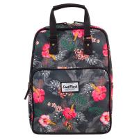 Раница и чанта на цветя за ежедневието или за път CoolPack Cubic Coral Hibiscus